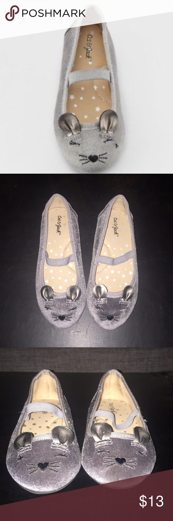 Adorable Cat \u0026 Jack mouse shoes size 9