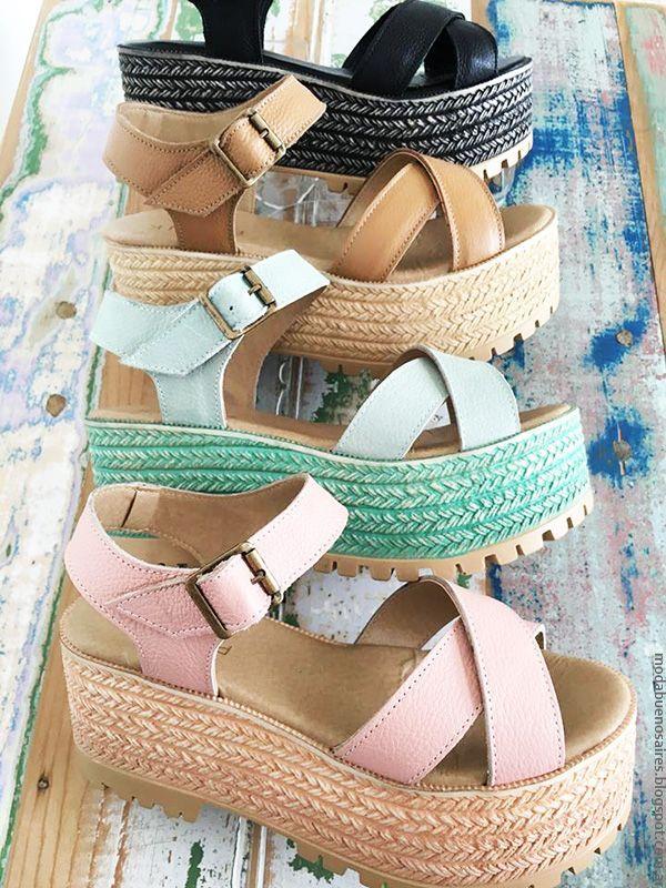 Zapatos Sandalias En Texturas Moda 2017 Color Y CCqApTw