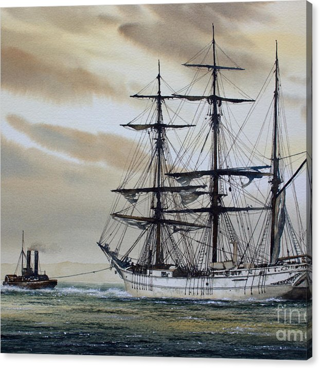 Towing Out To Sea Canvas Print Canvas Art By James Williamson In 2020 Out To Sea Canvas Prints Stretch Canvas
