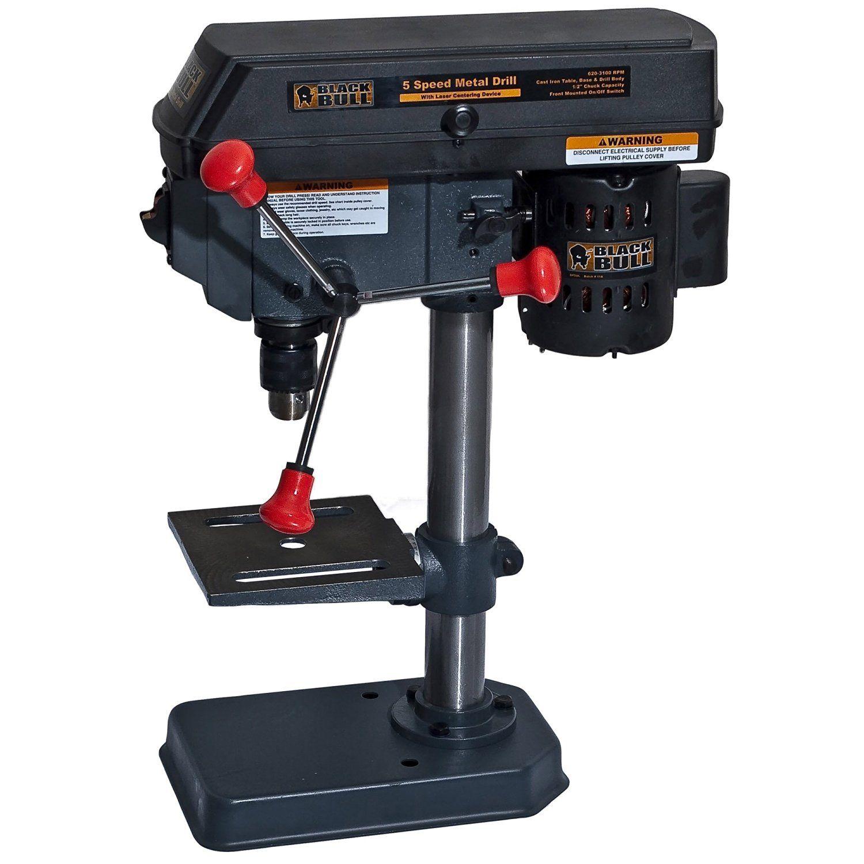 Black Bull Dp5ul 5 Speed Drill Press Speed Drills Drill Press Drill