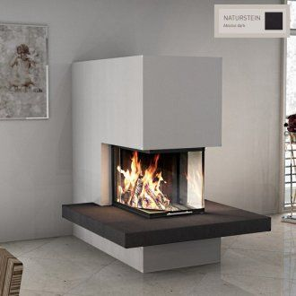 spartherm arte u 70h kaminbausatz sn13 urd naturstein chimenea pinterest haus. Black Bedroom Furniture Sets. Home Design Ideas