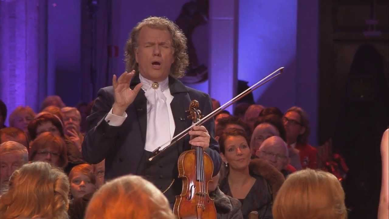 Andre Rieu Sleep Little Jesus Christmas Music Youtube Concert