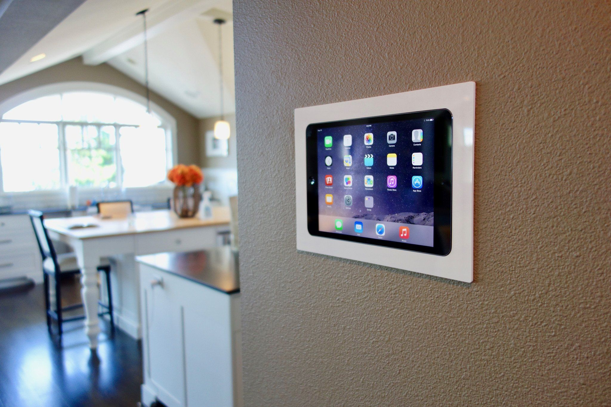 Iwalldock In Wall Tablet Mounting System Wall Tablet Ipad Wall Mount Diy Home Automation