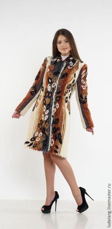 f36a7e3eae0 Верхняя одежда ручной работы. Ярмарка Мастеров - ручная работа. Купить  Пальто Багира. Handmade