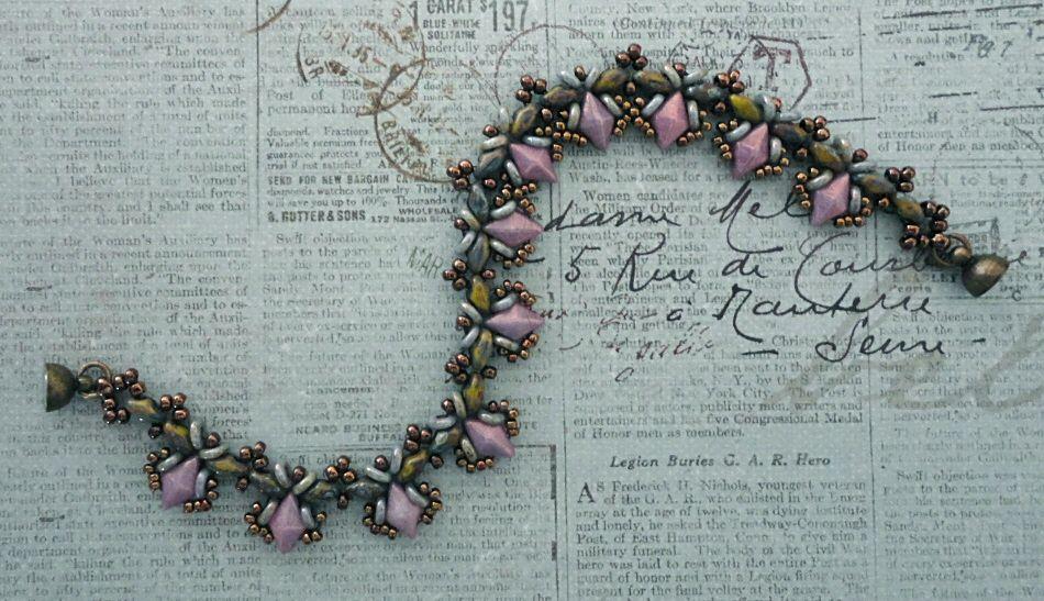 "15/0 seed beads Miyuki ""Metallic Chocolate"" (461)  11/0 seed beads Miyuki ""Metallic Chocolate"" (461)  8/0 seed beads Miyuki ""Metallic Ch..."
