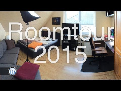 Roomtour & Setuptour 2015 - ITRaidDE - YouTube