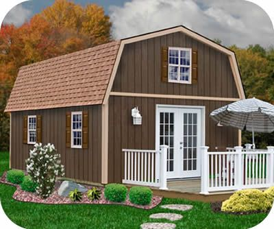Home Depot Storage Sheds | Best Barns Richmond 16u0027W X 20u0027D Wood