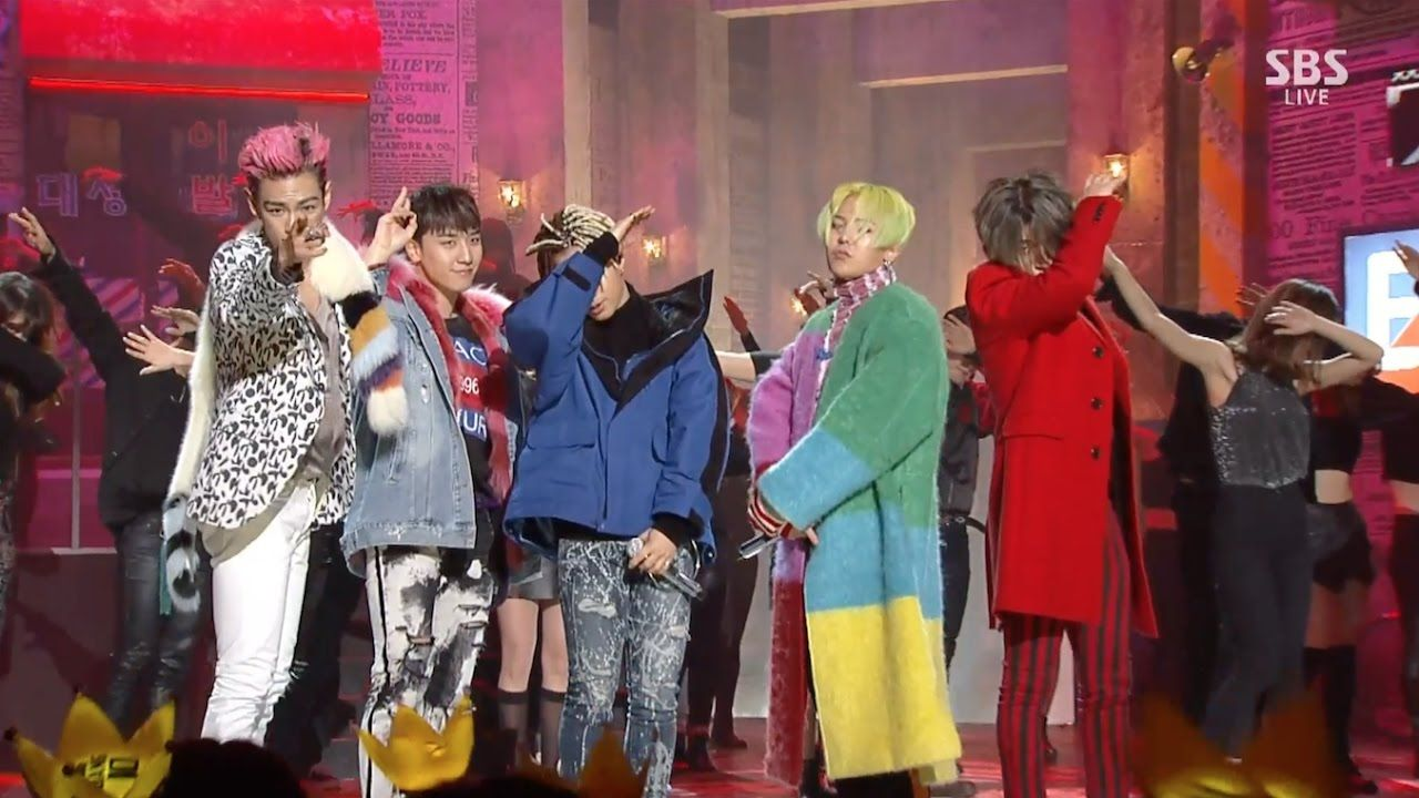 This is as fun as I knew it would be.  BIGBANG - '에라 모르겠다 (FXXK IT)' 1218 SBS Inkigayo