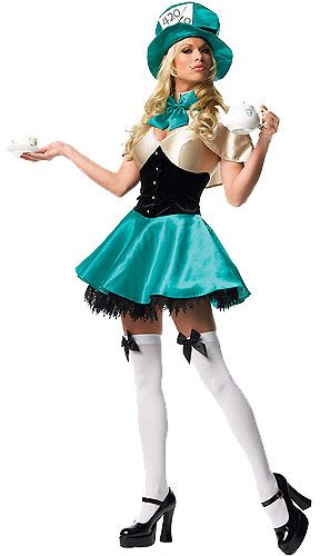 Sexy mad hatter costumes