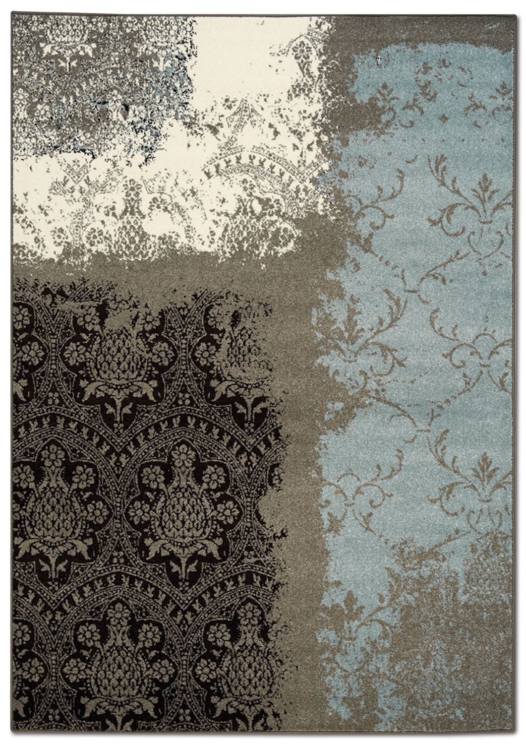 Aldridge 8 X 11 Area Rug Blue And
