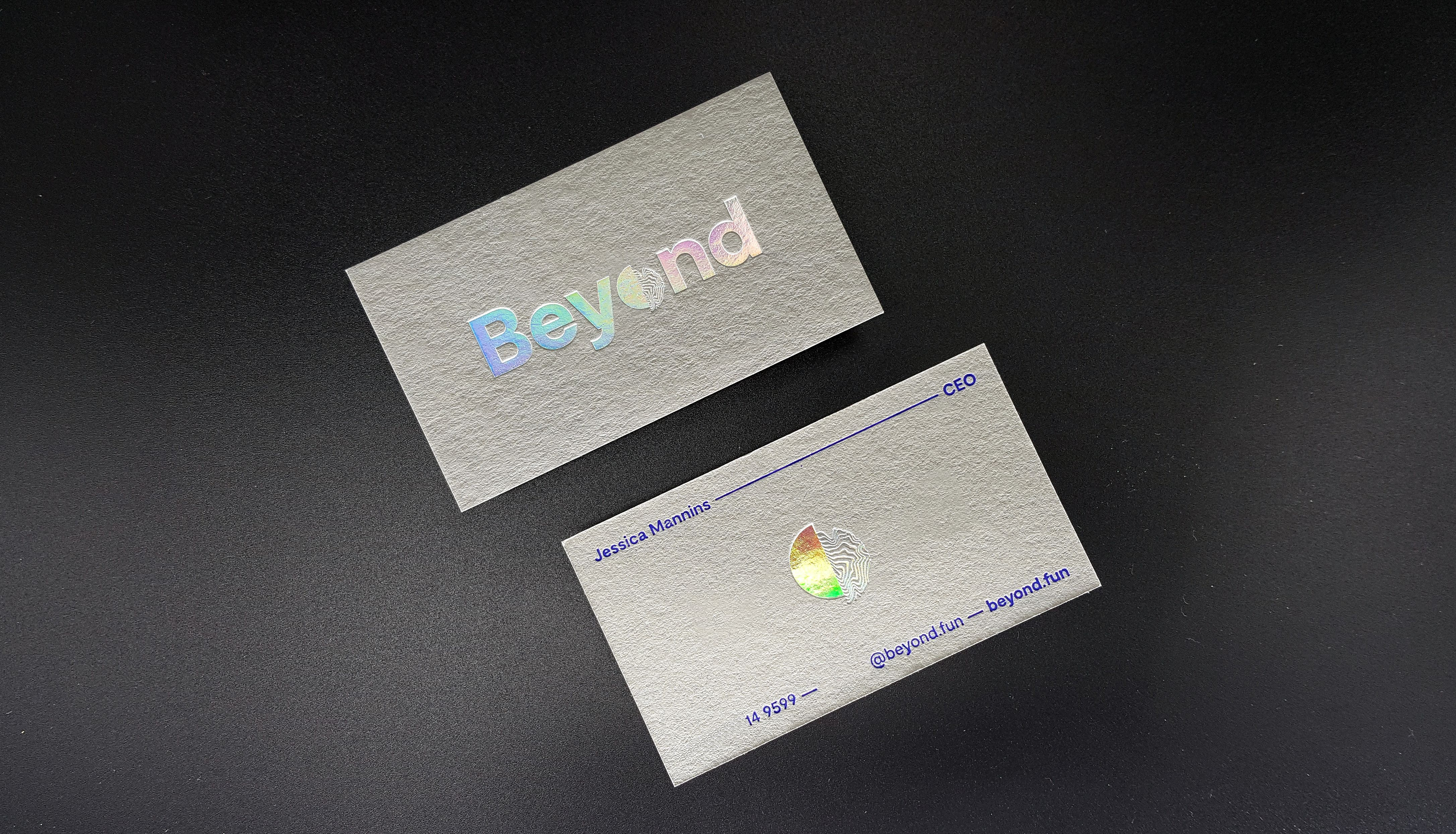 Gray Business Cards Grey Cotton Business Cards Luxury Business Cards Personal Business Cards