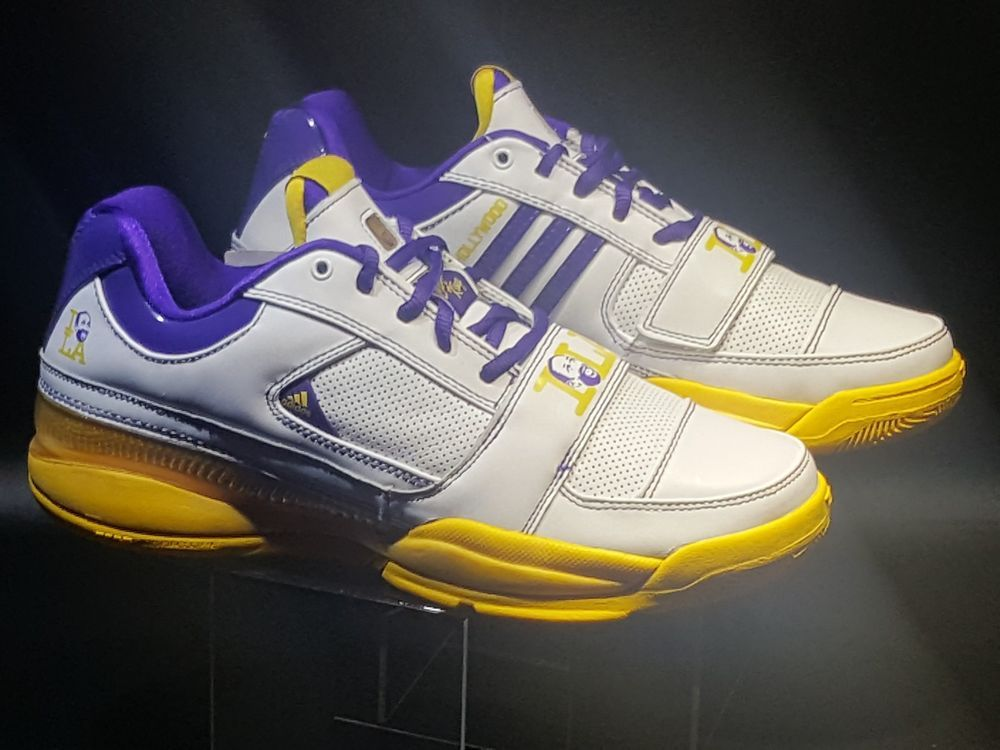 f7d434d8fb0 Rare Adidas TS Lightswitch 2 Gilbert Arenas Gil Zero Gilwood LA Lakers Sz  8.5