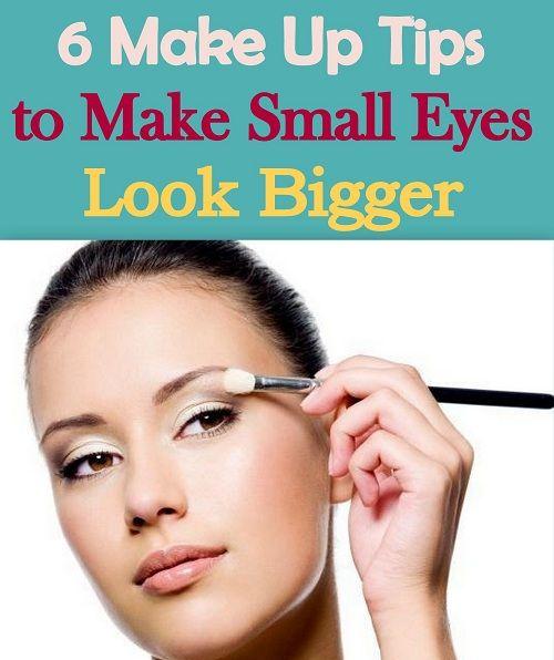 6 Makeup Tips for Small Eyes to Make Them Look Bigger  http://www.feminiya.com/6-makeup-tips-for-small-eyes-to-make-them-look-bigger/  #makeup #eyes #eyemakeup