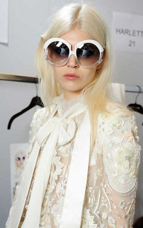 Amazing sunglasses Cavalli SS2015 #pixiemarket