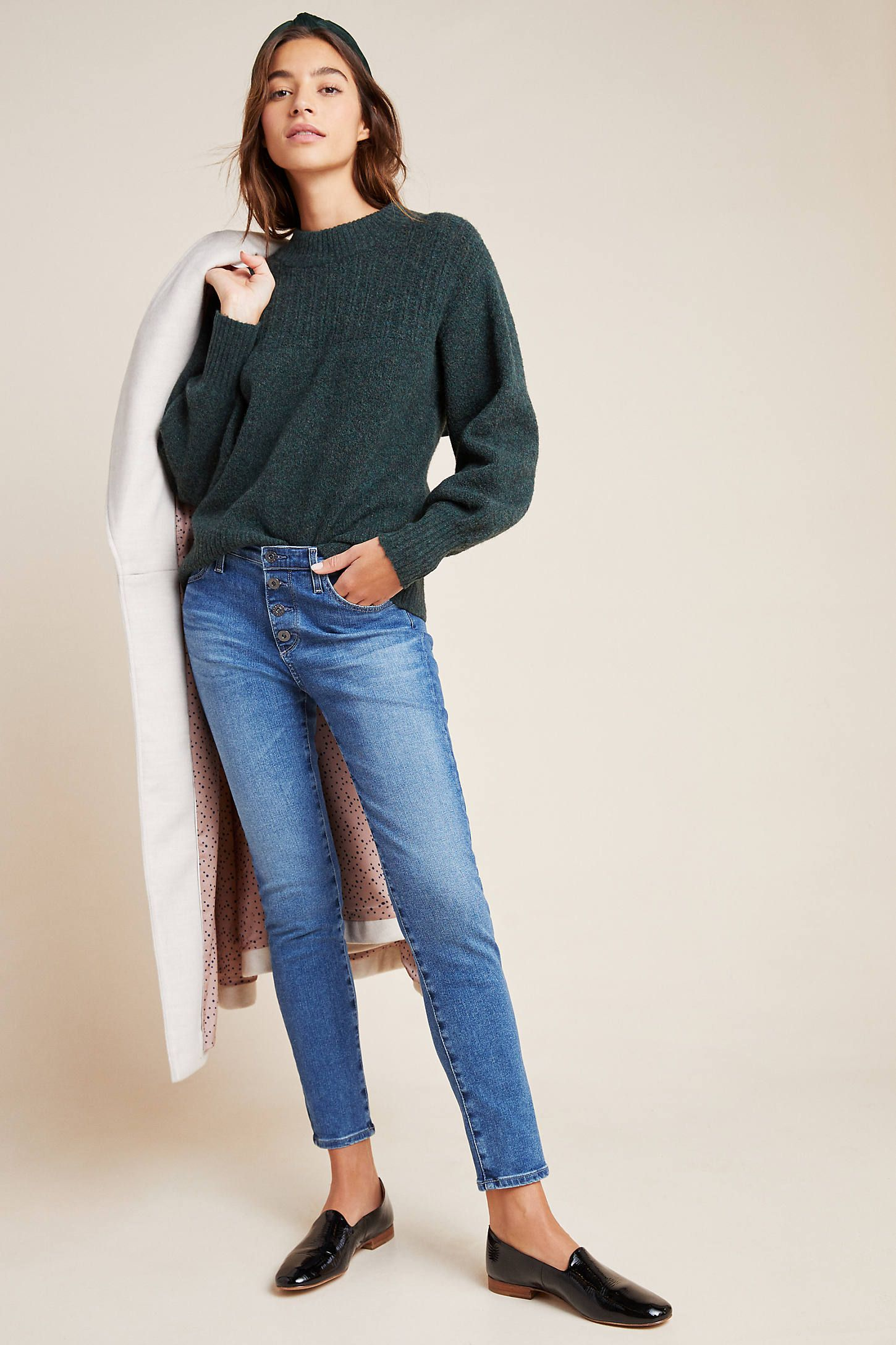 Ag The Stevie High-rise Skinny Ankle Jeans By Jeans In ...