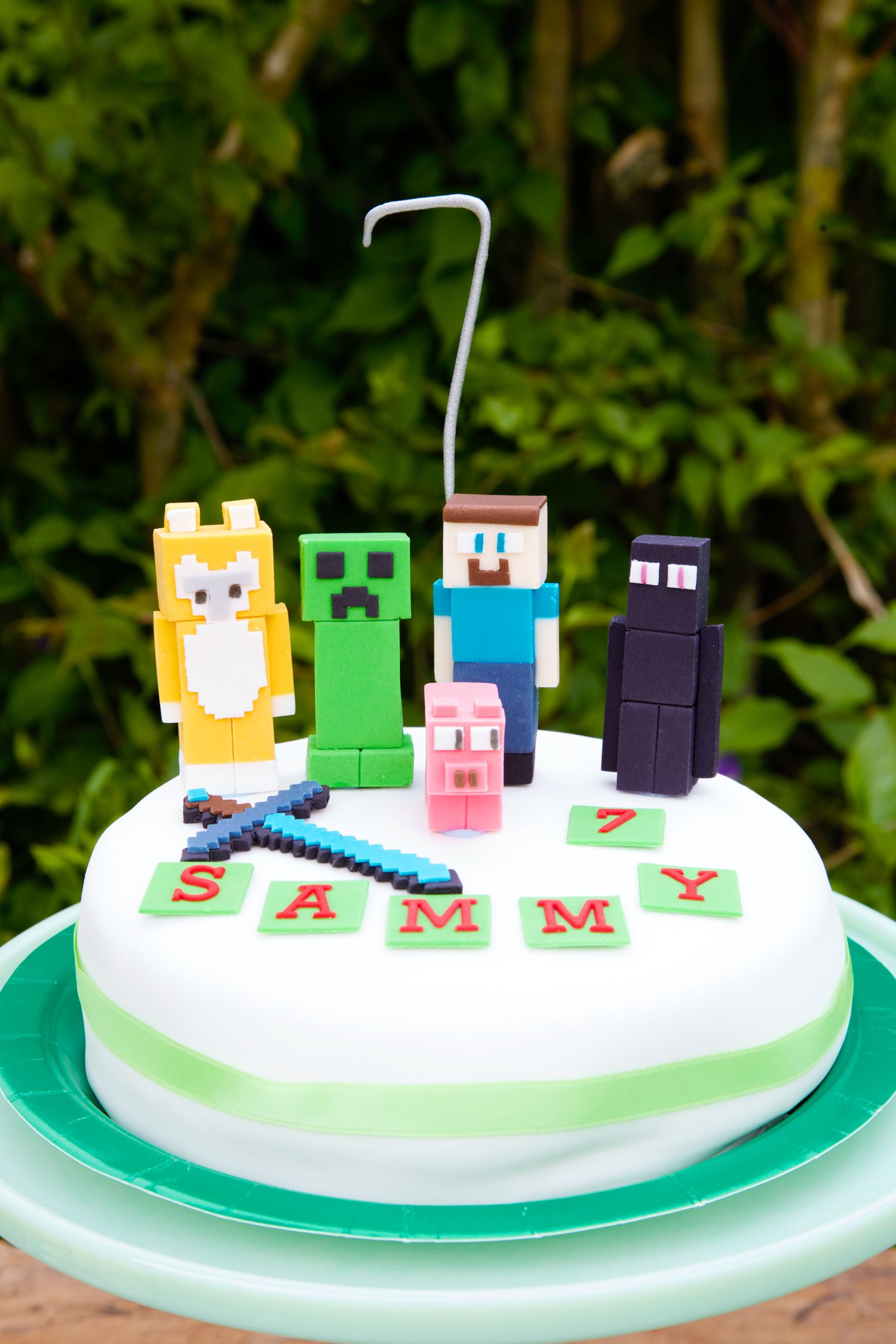 Minecraft Birthday Party Once I Was 7 Years Old My Mama Told Me