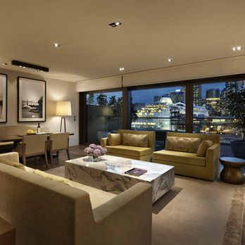The Living Room in the master Suite at Park Hyatt Sydney. | Yelp ...