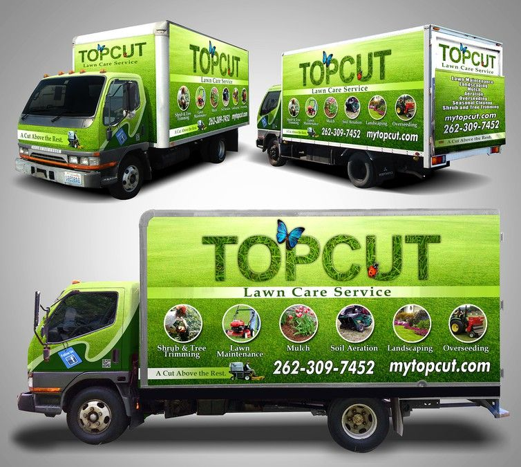 Create a Landscaping Truck Wrap by Syns&Graphix Signage