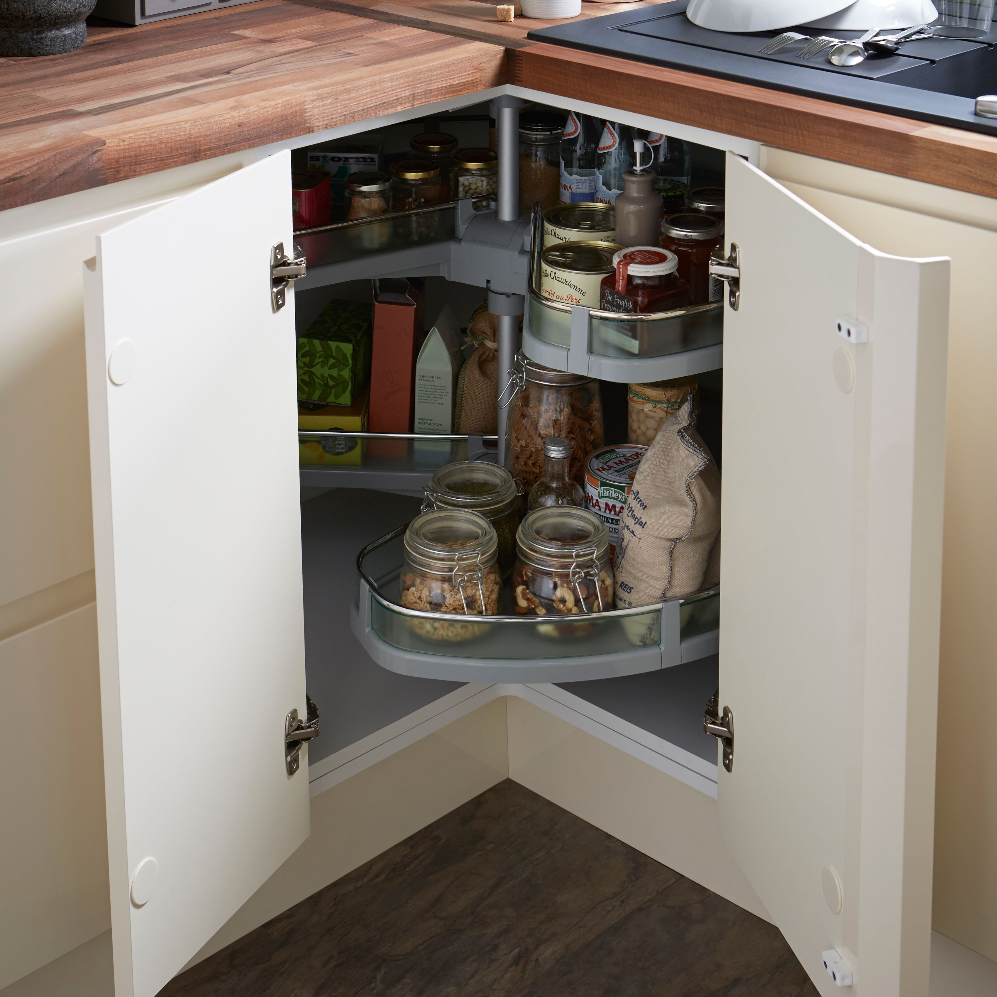 Cooke & Lewis White Corner Base Cabinet (W)925Mm in 2020 ...