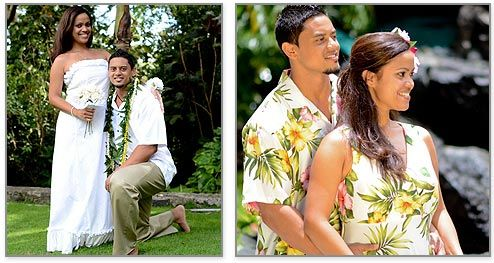 Hawaiian Wedding Clothes Such As Dresses Beach And Other For Your Groom Bridesmaids Groomsmen