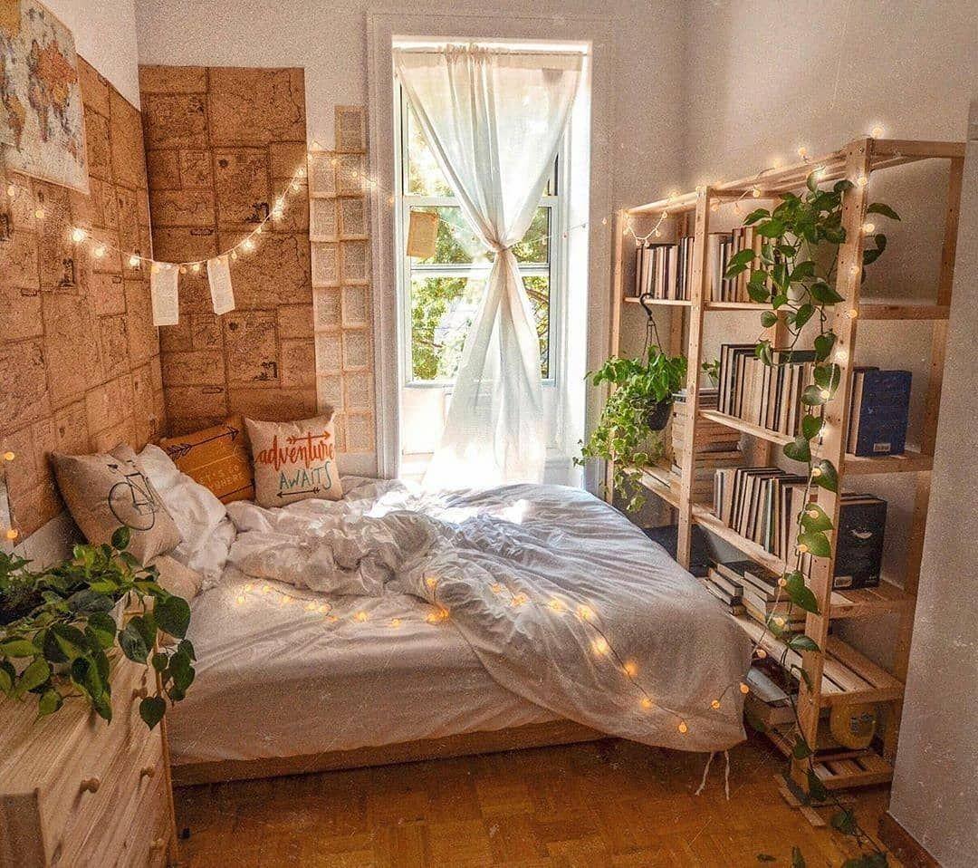 Bohogang On Instagram Tag A Bookworm Credits Iammissmistake Bohemiandecor Aesthetic Bedroom Bedroom Inspiration Boho Apartment Bedroom Decor