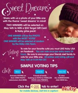 Nûby USA Sweet Dreams Photo Contest