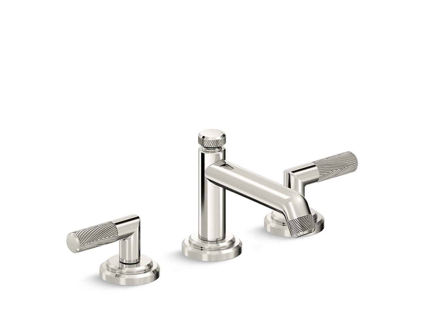 Complete your bathroom look with this artfully designed faucet by ...