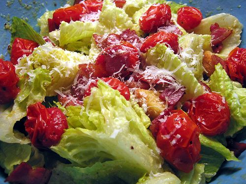the barefoot contessa's caesar salad.   salads   pinterest