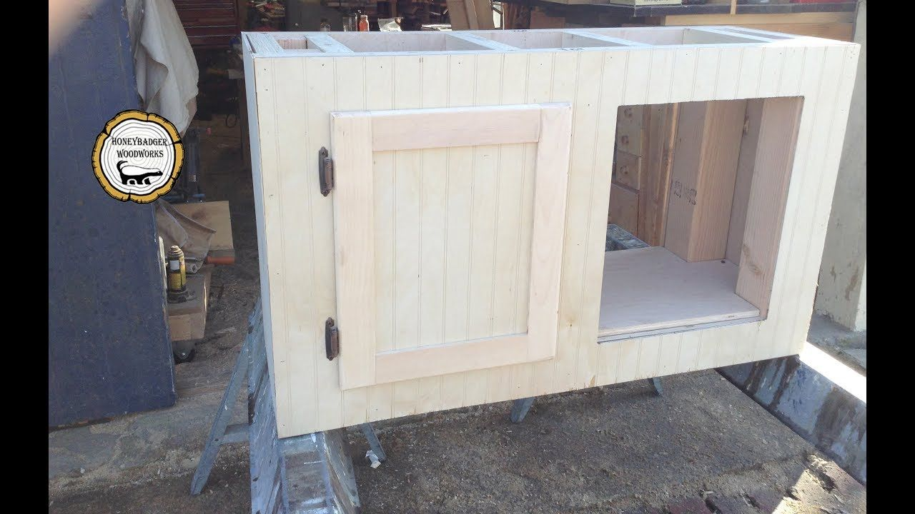 Woodworking Make And Install Partial Inset Cabinet Doors How To