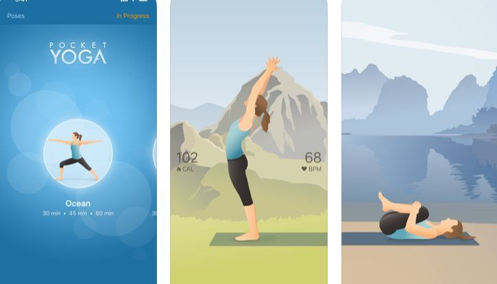 Pocket Yoga Iphone apps, App, Latest iphone
