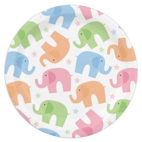 Elephants Paper Plates  sc 1 st  Pinterest & Elephants Paper Plates | Circus birthday and Birthdays
