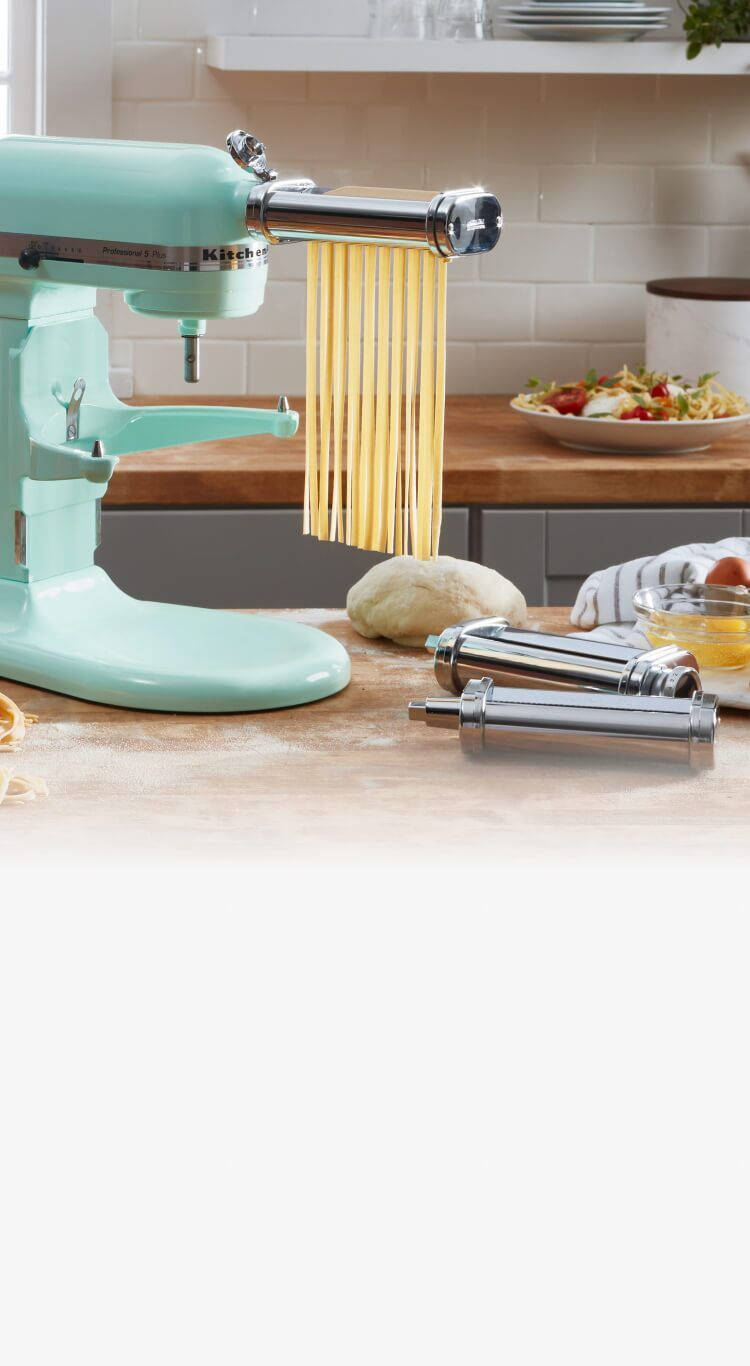 Introducing the kitchenaid stand mixer attachments