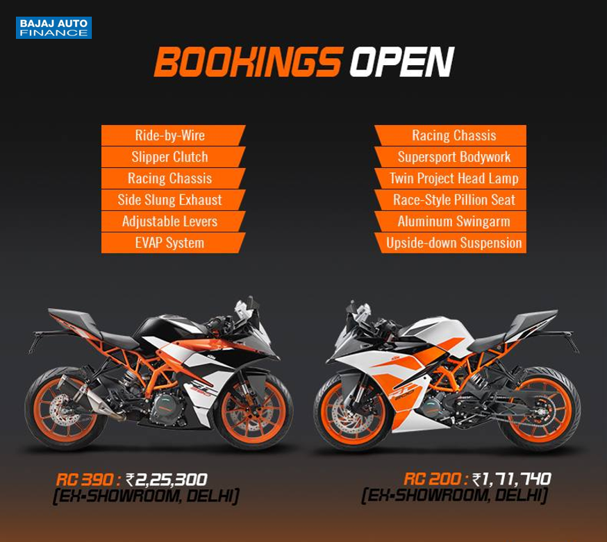 Presenting The All New Ktm Rc Range With Moto Gp Genes To Buy Yours Apply Today Http Bit Ly 2i76ot1 Ktm Motorcycle News Motorcycle