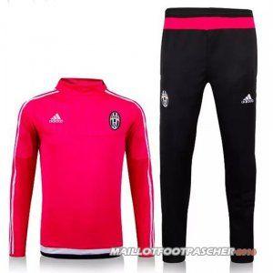 Survetement Foot Entrainement UCL Juventus 20152016 Rose