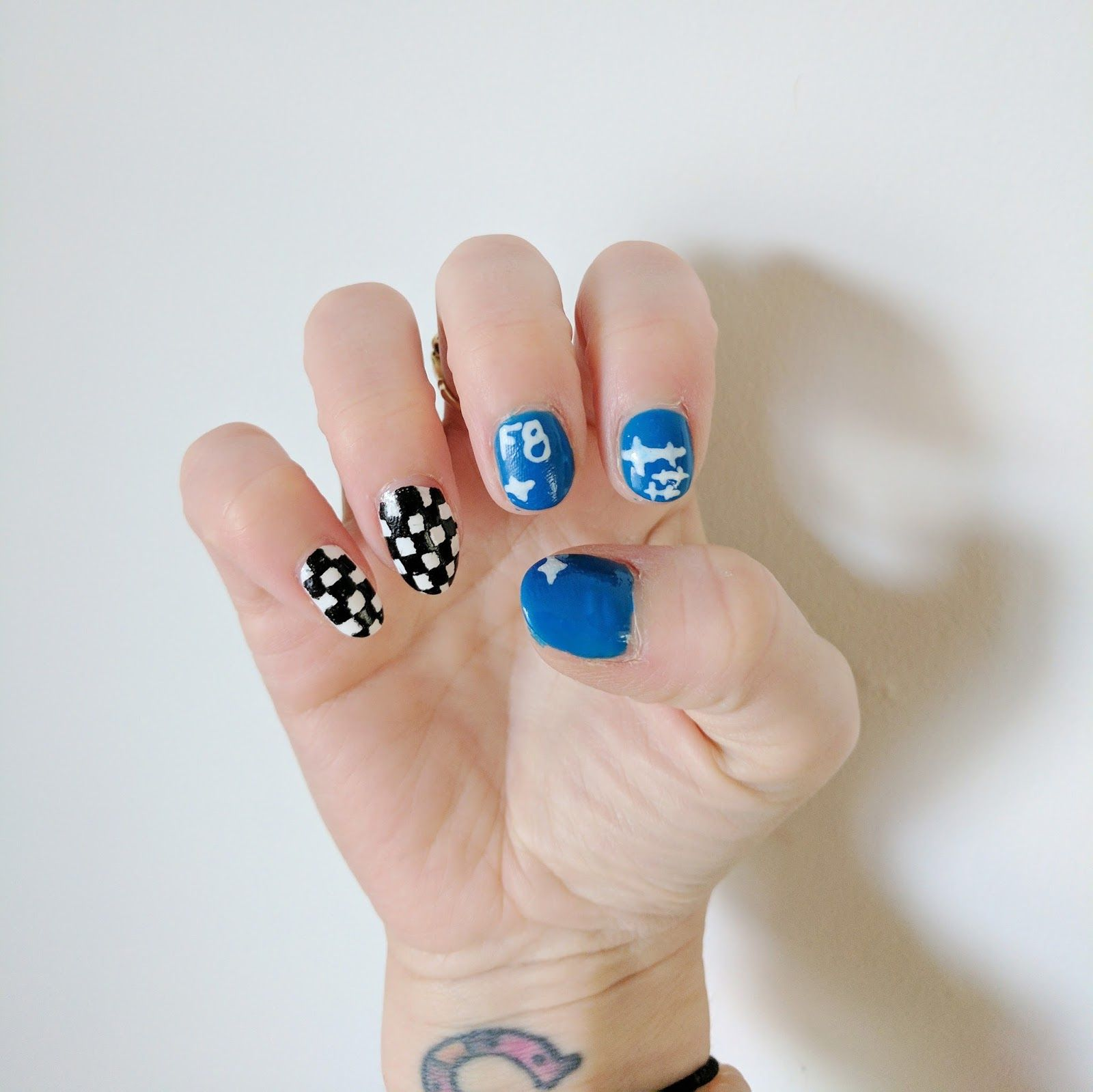 These nails were an epic fail but that\'s ok! These things happen ...