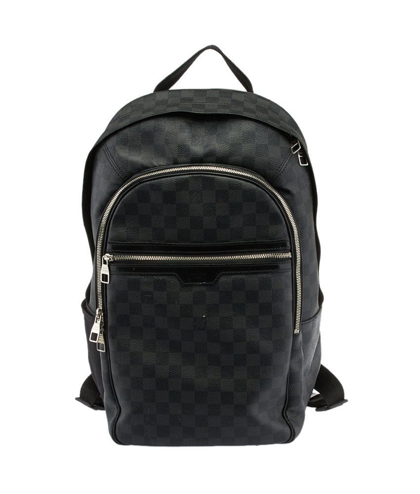 Louis Vuitton Backpack (Women s Pre-owned Damier Black Graphite Canvas LV  Designer Back Pack) f471cb654