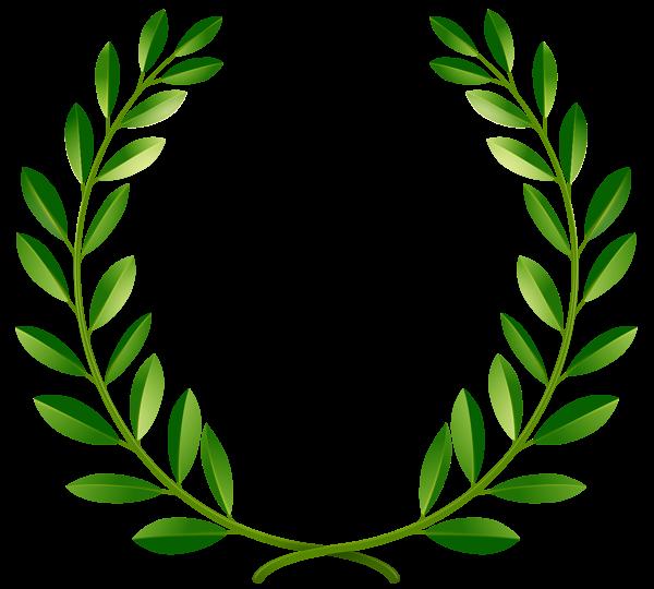 Green Laurel Leaves Png Clip Art Image Floral Wreaths Illustration Laurel Leaves Wreath Illustration