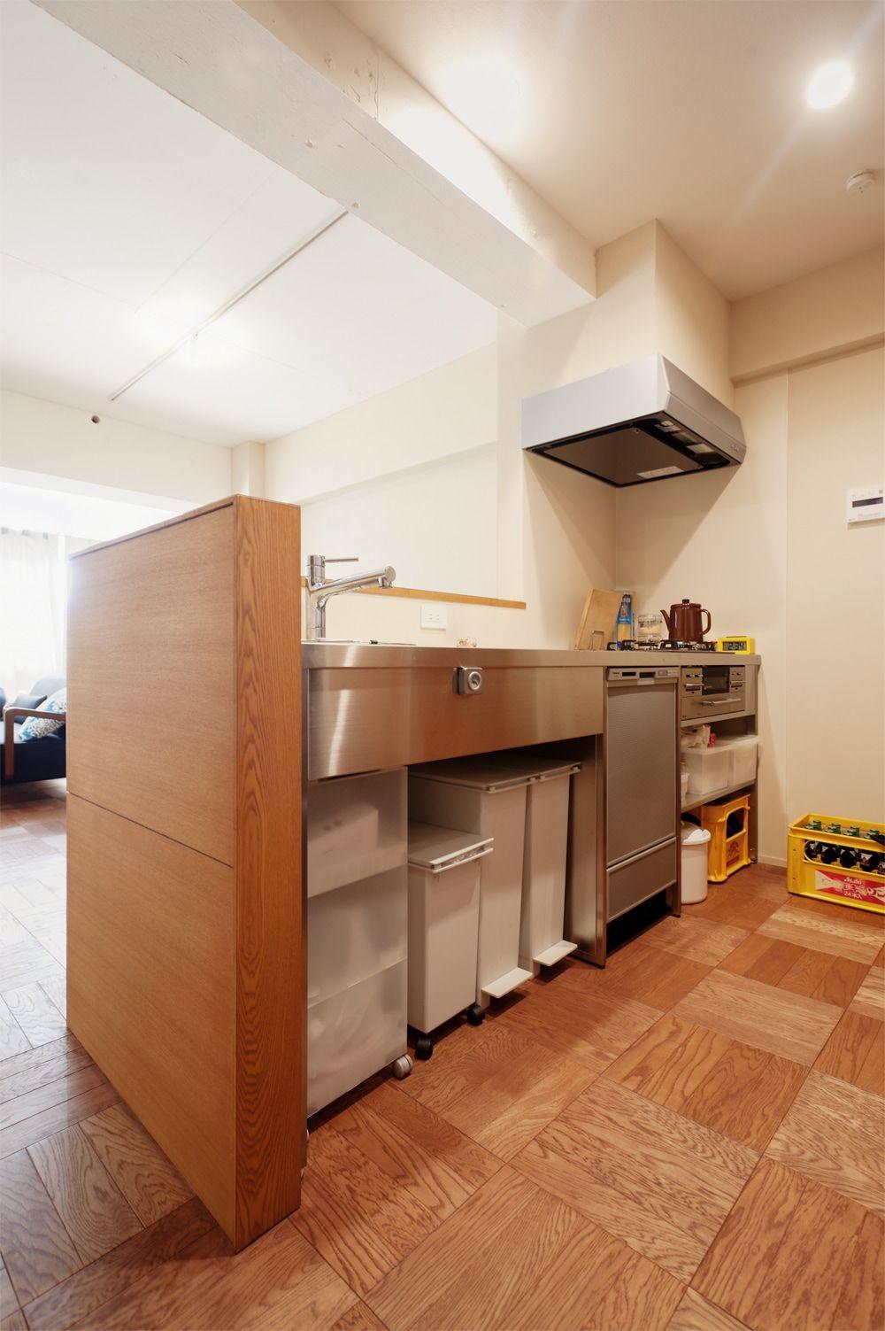 リフォーム リノベーションの事例 キッチン 施工事例no 277ふたりのこだわりを詰めこんだ理想の家 スタイル工房 シンク下 家 キッチン