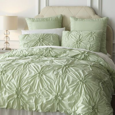 Savannah Bedding & Duvet - Celadon. Perfect for a guest room.