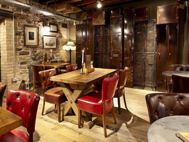 Andy Thornton Furniture At Jamieu0027s Union Jacks | Restaurant Furniture  Portfolio | Bespoke Refectory Tables | Bares E Restaurante | Pinterest |  Bespoke, ...