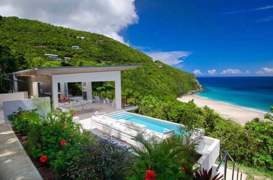 Photo 1 Caribbean homes, Outdoor shower beach, Villa rental