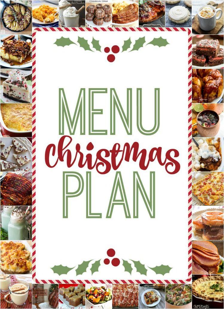 Christmas Menu Plan Christmas Party Menu Holiday Menus Christmas Dinner Menu