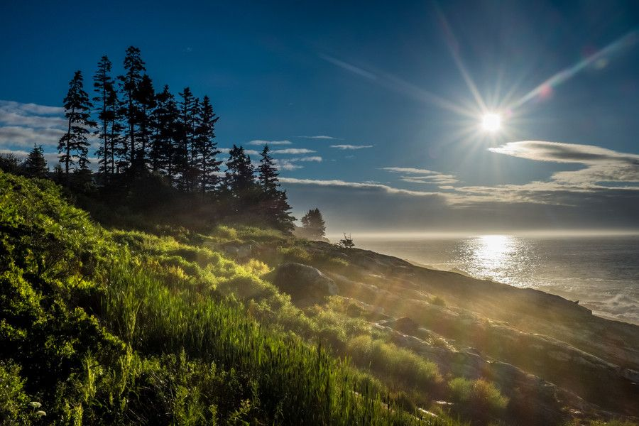 Sunrise on the coast of the Pine Tree State by Ugo Cei on 500px