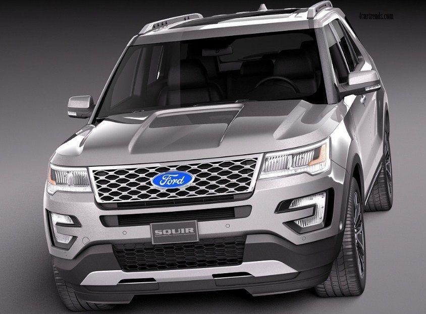 2018 ford explorer interior specs release date