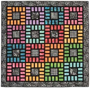 Inspiration only: COLOR BOXES QUILT PATTERN Link leads to pattern available for purchase.