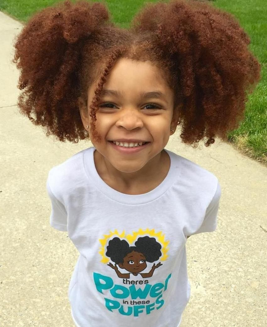 Curly Pigtails For Natural Hair Natural Hair Styles Kids Hairstyles Pigtail Hairstyles
