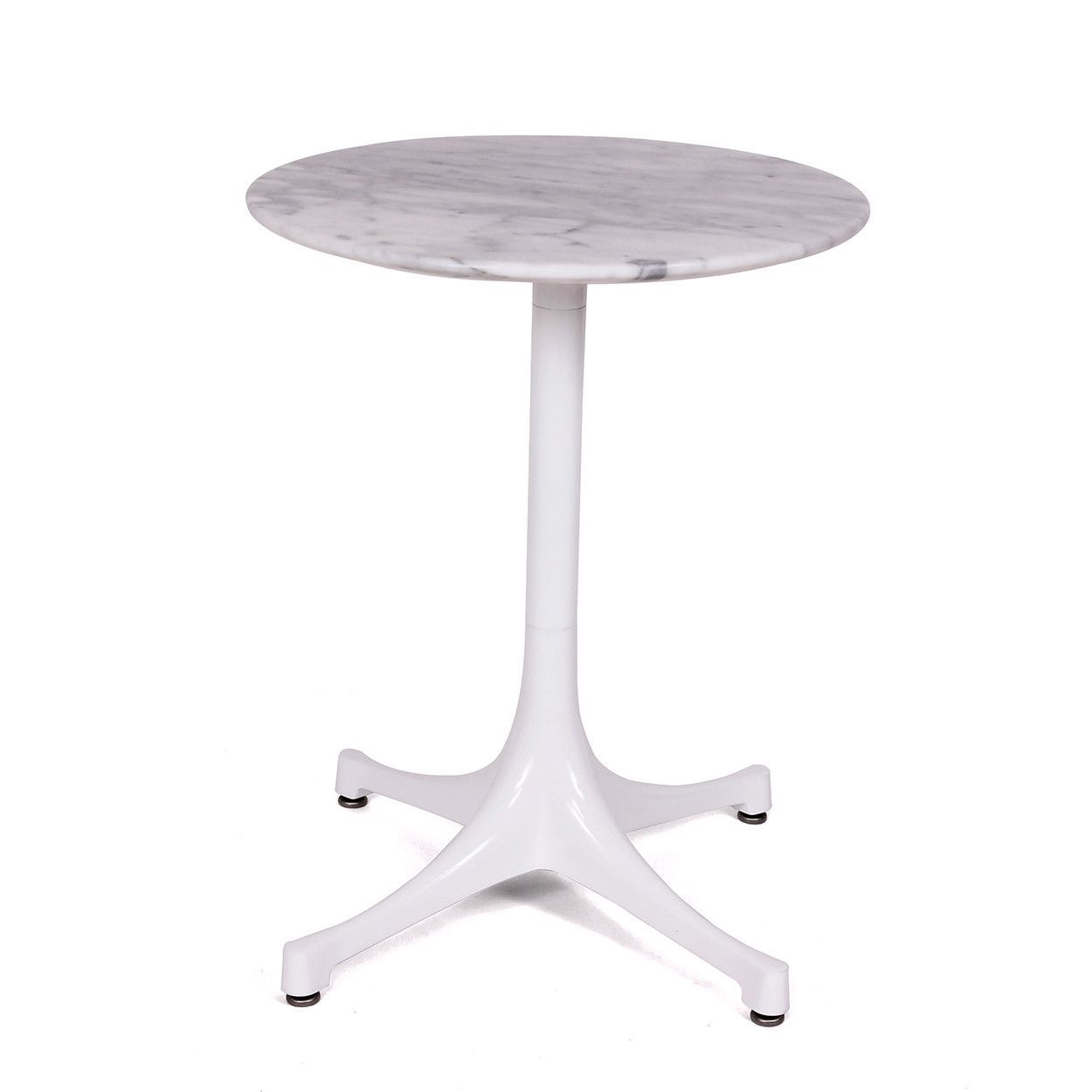 Pedestal Table With Marble Top