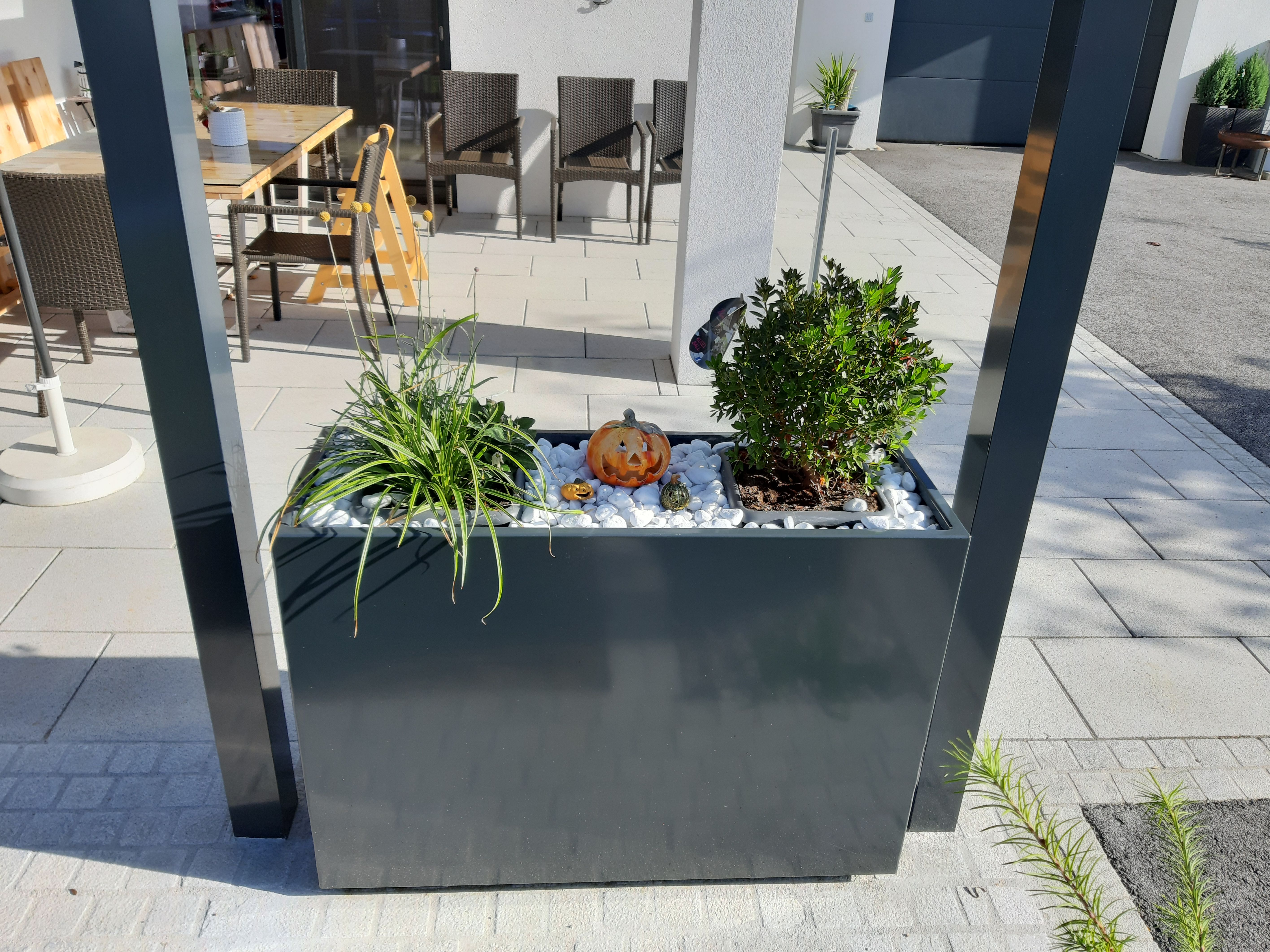 Pflanzkasten Aluminium In 2020 Pflanzen Gabionen Pflanzkasten