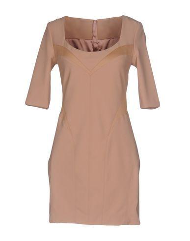 ELISABETTA FRANCHI Women's Short dress Sand 6 US