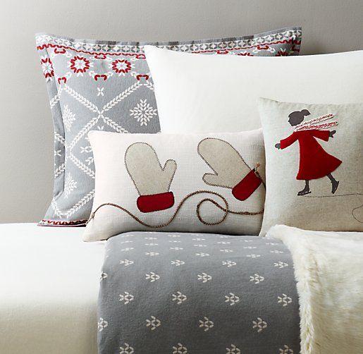 European Fair Isle Flannel & European Solid Flannel Bedding ...